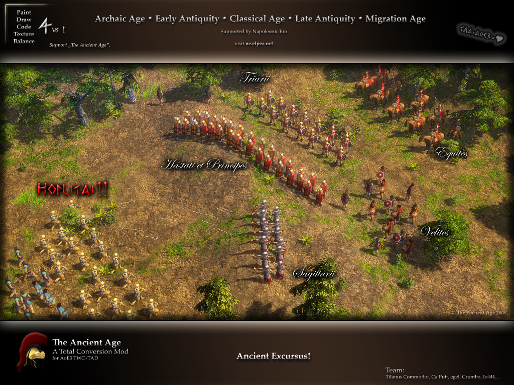 Taa Wallpaper I Image The Ancient Age Mod For Age Of Empires Iii