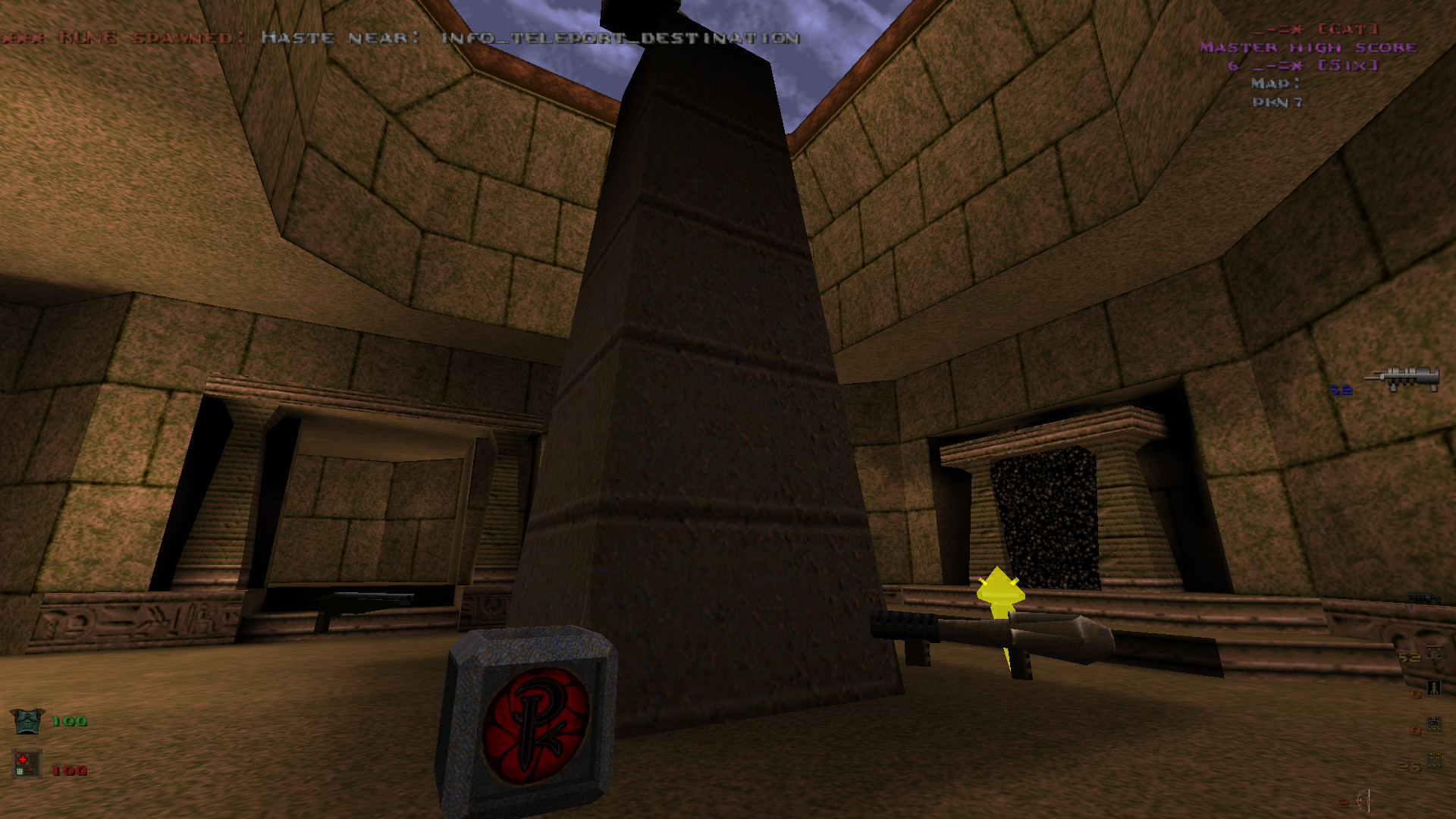 PK 3 0 - hack DM maps image - Painkeep v3 0 mod for Quake