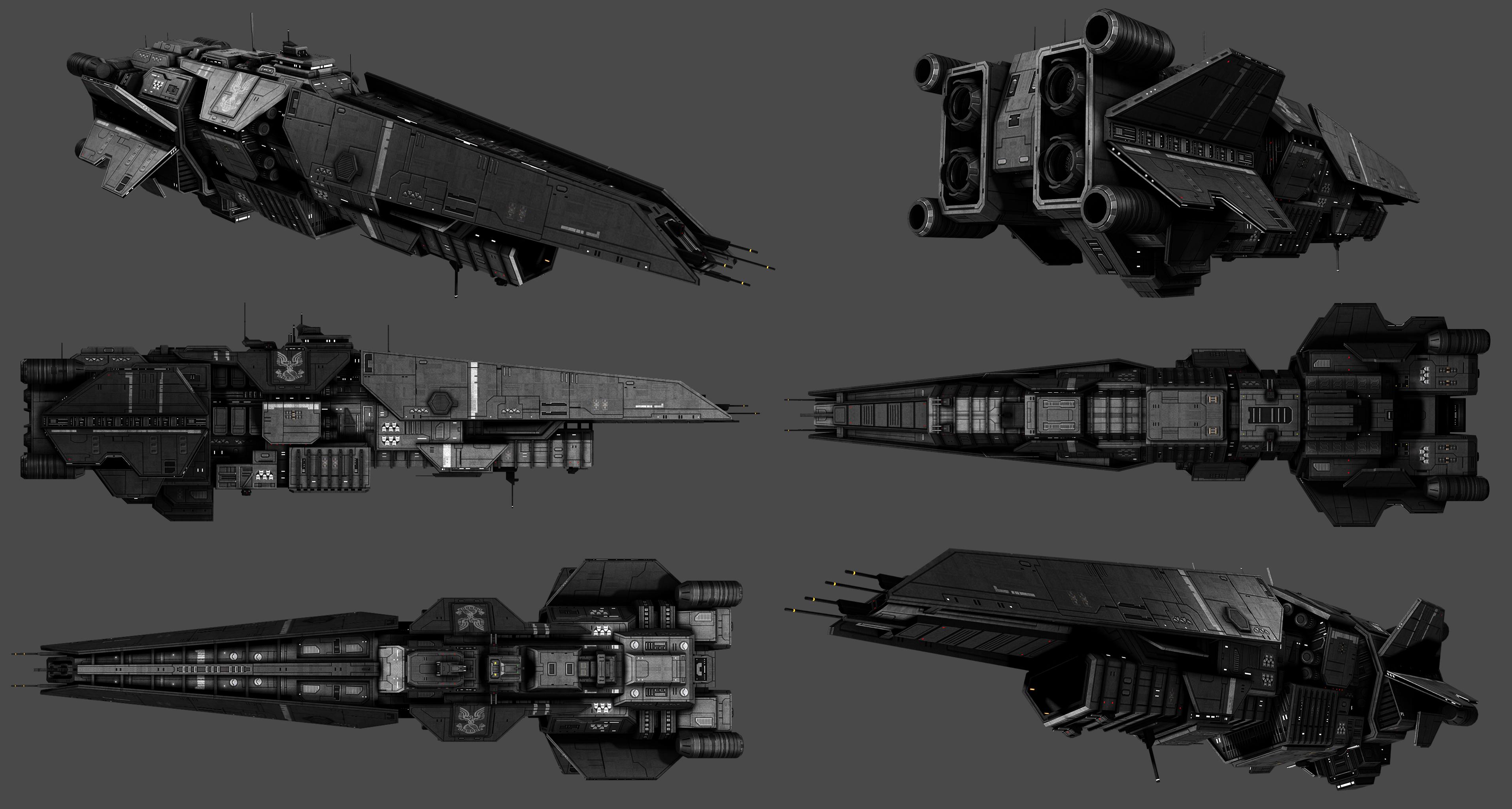 Halberd Class Destroyer Image Sins Of The Prophets Mod