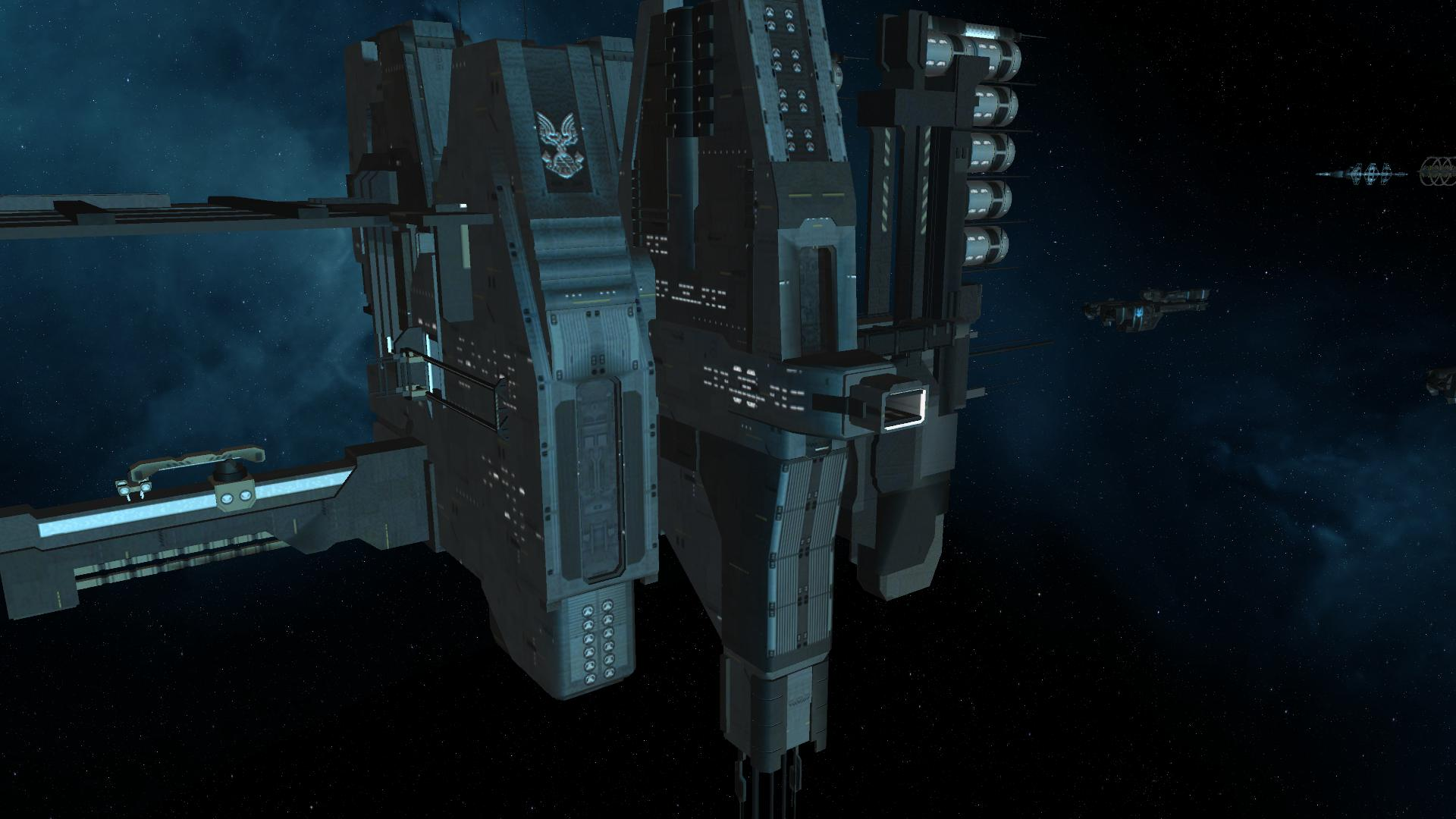 unsc space station huge - photo #26