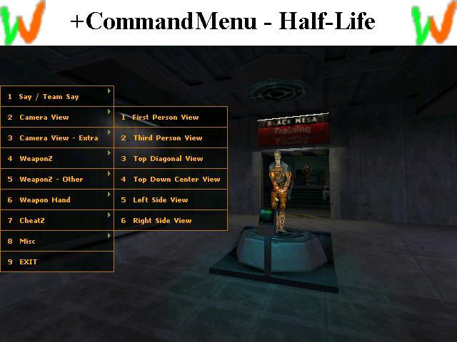 Command Menu image - Elements of War mod for Half-Life 2