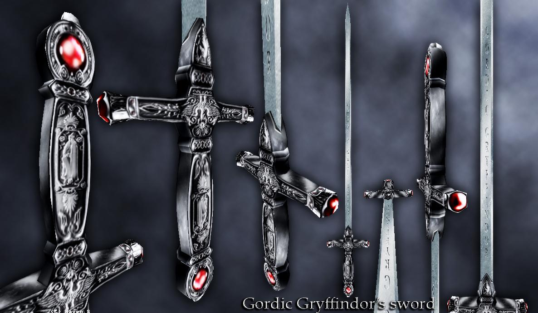 Картинки меча годрика гриффиндора