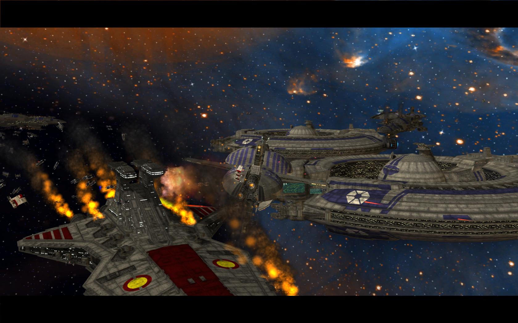 Star Wars Battlefront 2 2017 Space Battles Footage to