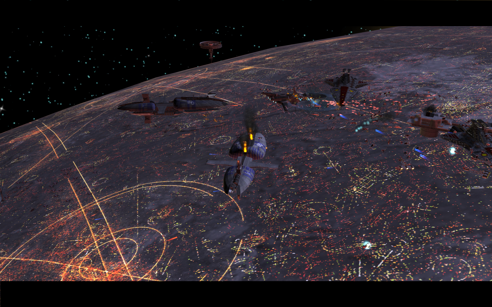 Coruscant Wallpaper