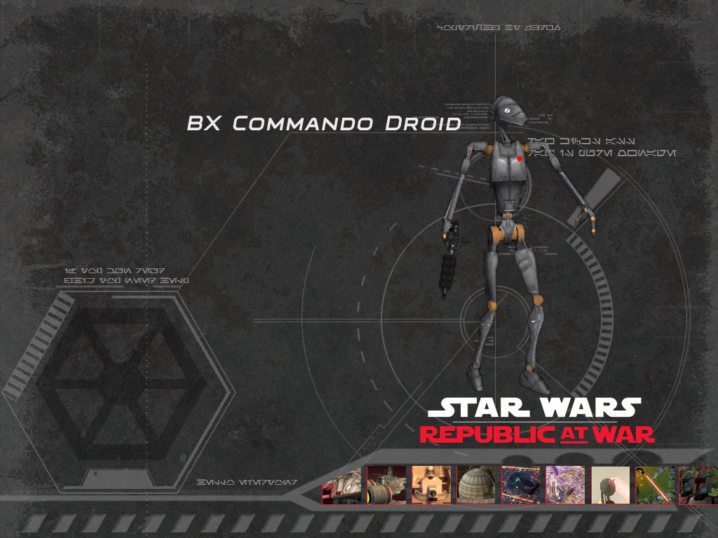 Bx Commando Droid Image Republic At War Mod For Star
