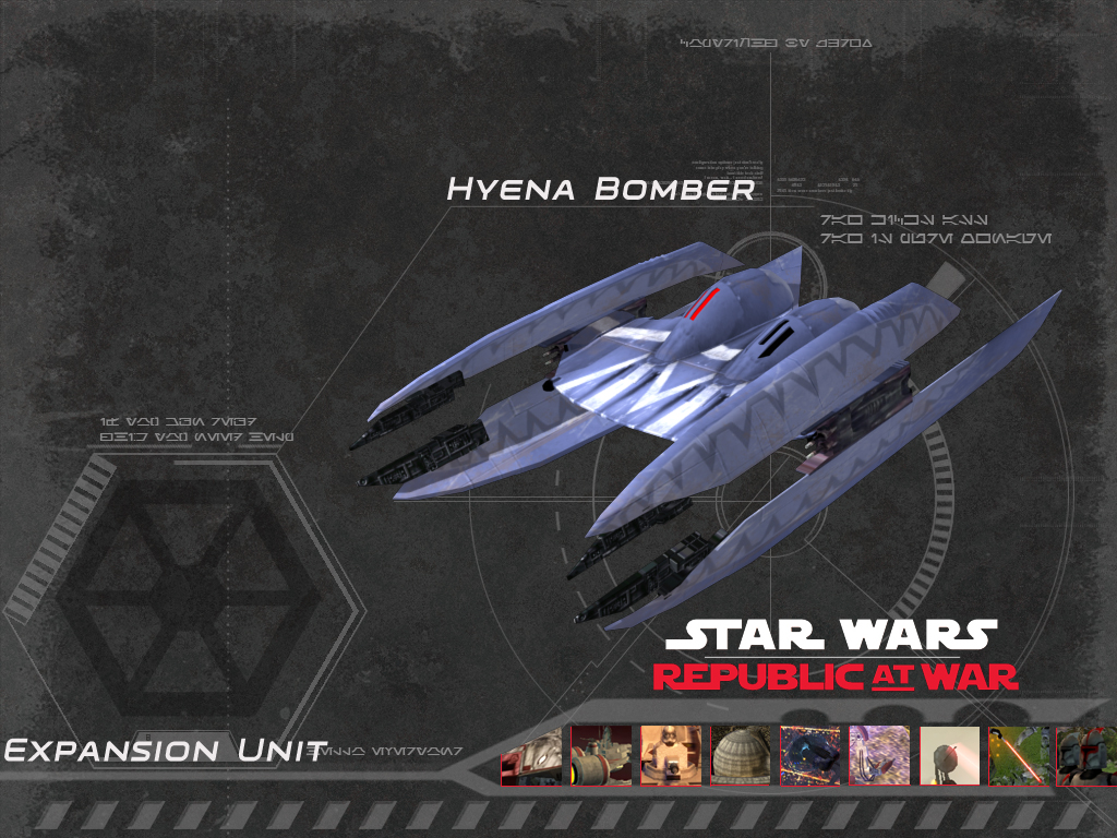 Hyena Bomber Image Republic At War Mod For Star Wars Empire At War Forces Of Corruption Mod Db