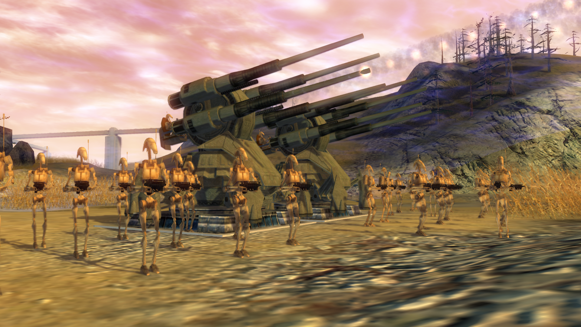 Cis Aa Turret Image Republic At War Mod For Star Wars Empire At War Forces Of Corruption Mod Db