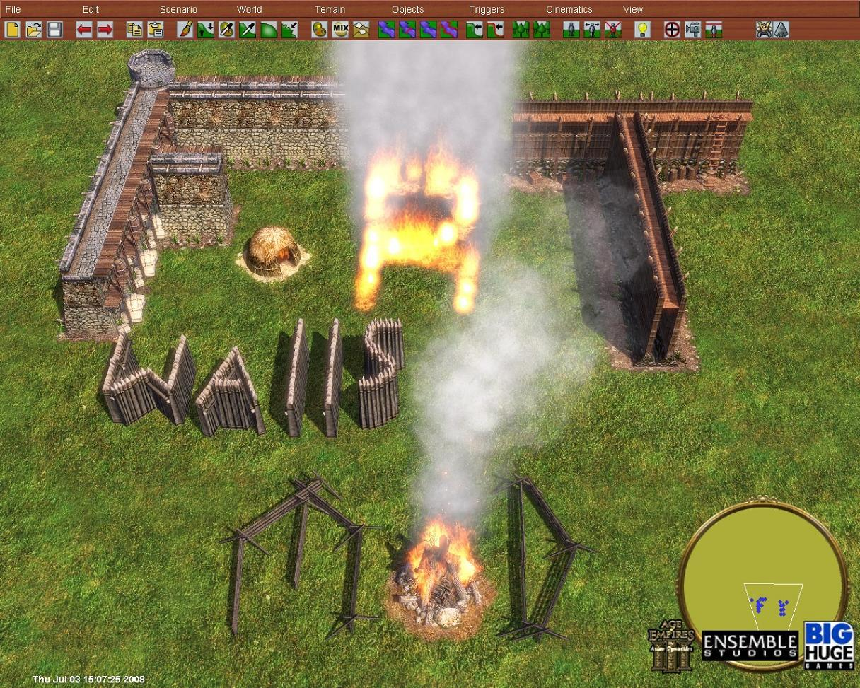 Wall Examples Image Fortified Walls Mod For Age Of Empires Iii