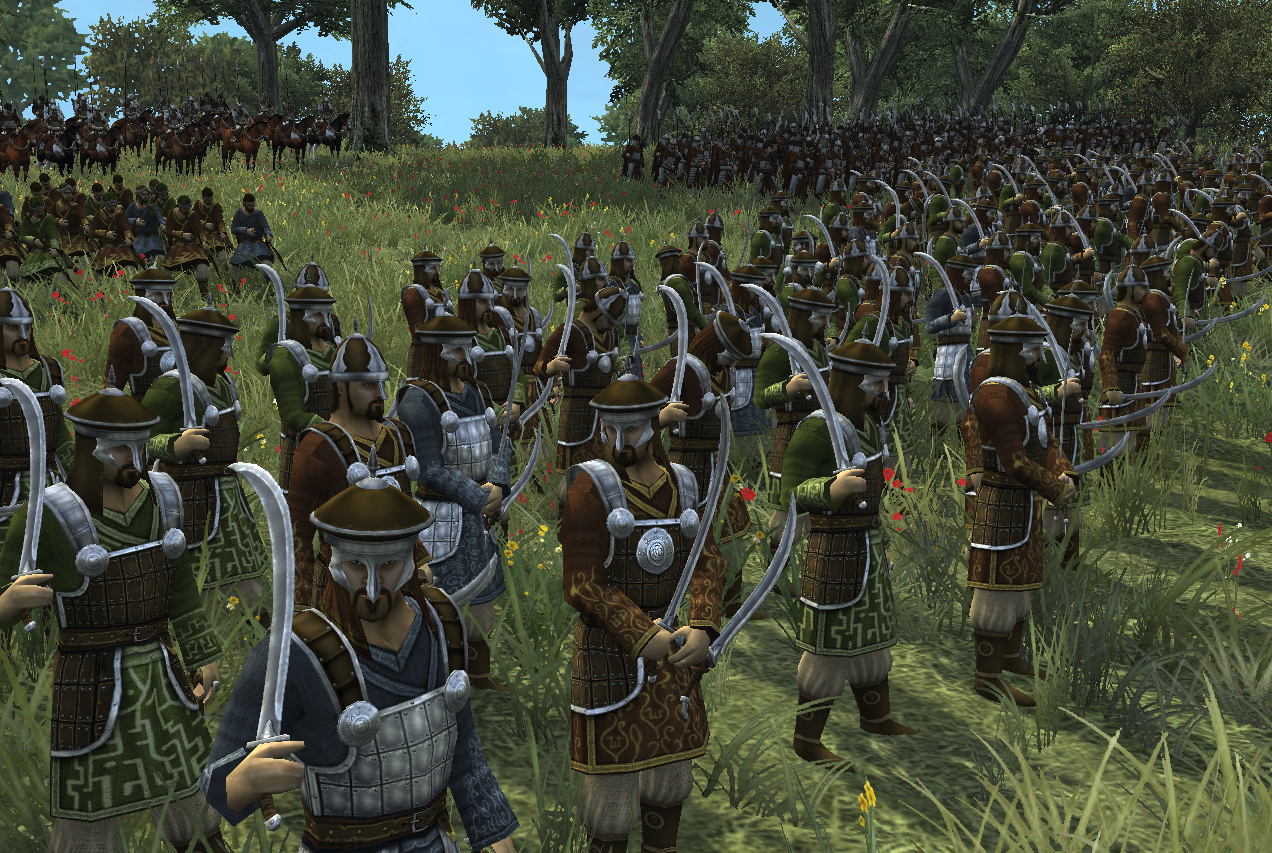 clan warriors image third age total war mod for