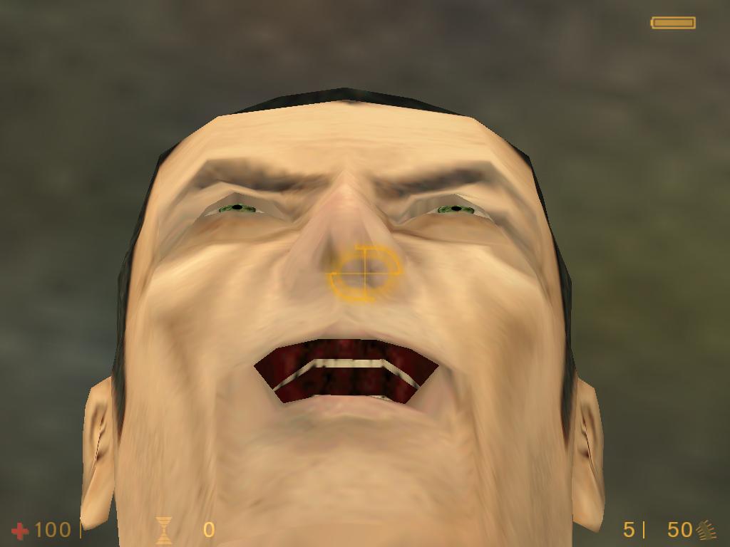 Gman Image Diamond Half Life Final Mod For Half Life