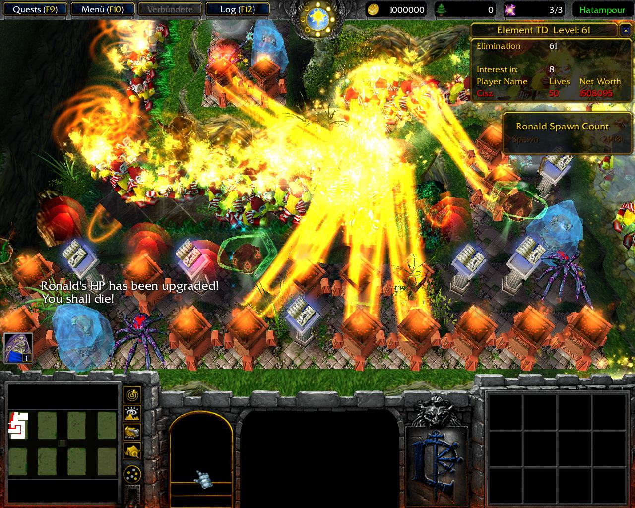Советуем вашему просмотру видео играем в warcraft iii карту circle green td с дарком ,картменом и костетом