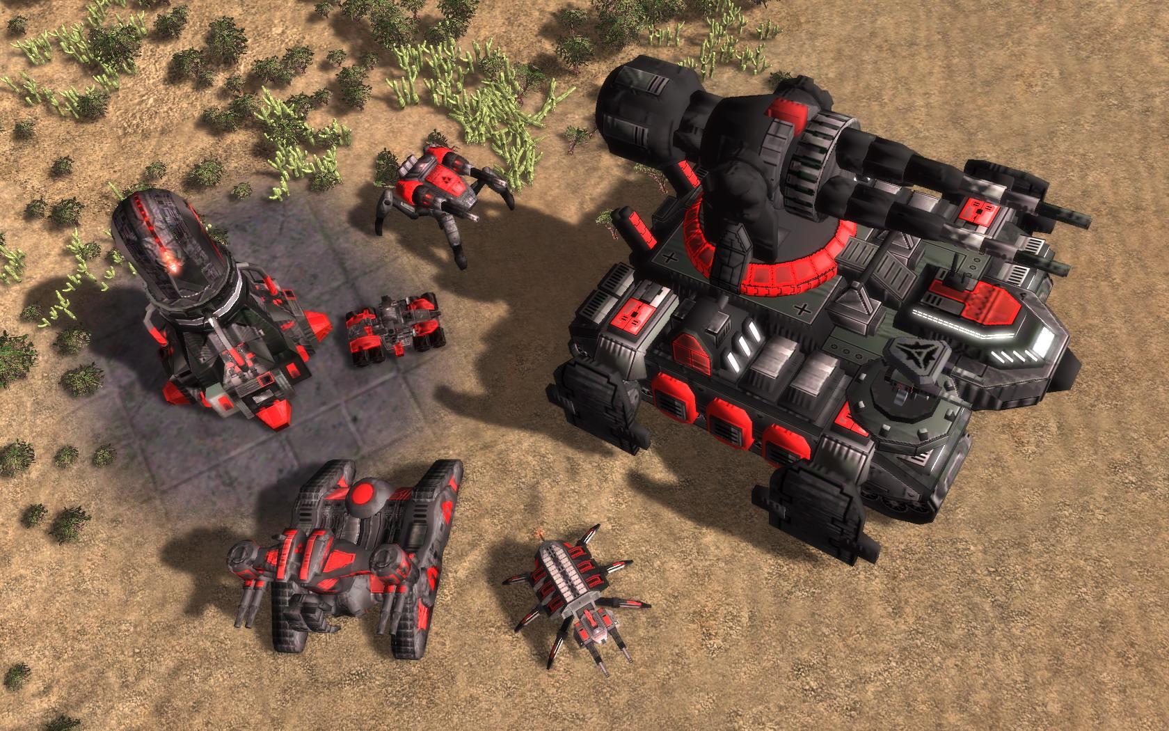 In Game Shots Image 4th Dimension Fa Mod For Supreme Commander