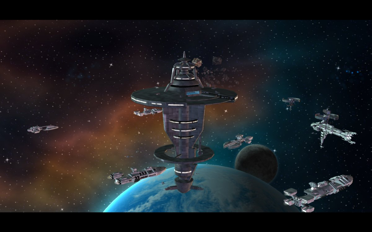 Space Station Concept for Space Dominators