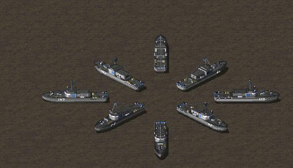 corvette for RA2:MV