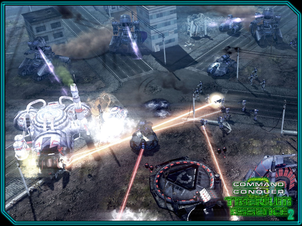 CABAL forces attacking a Nod base