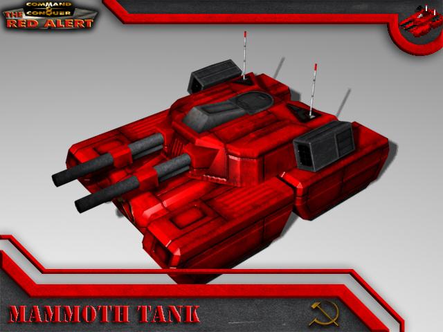 Soviet Mammoth Tank Render image - The Red Alert mod for C ... Red Alert 3 Tank