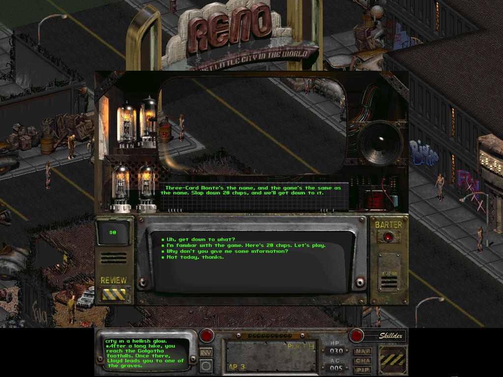 New Reno image - Fallout 2 Restoration Project mod for