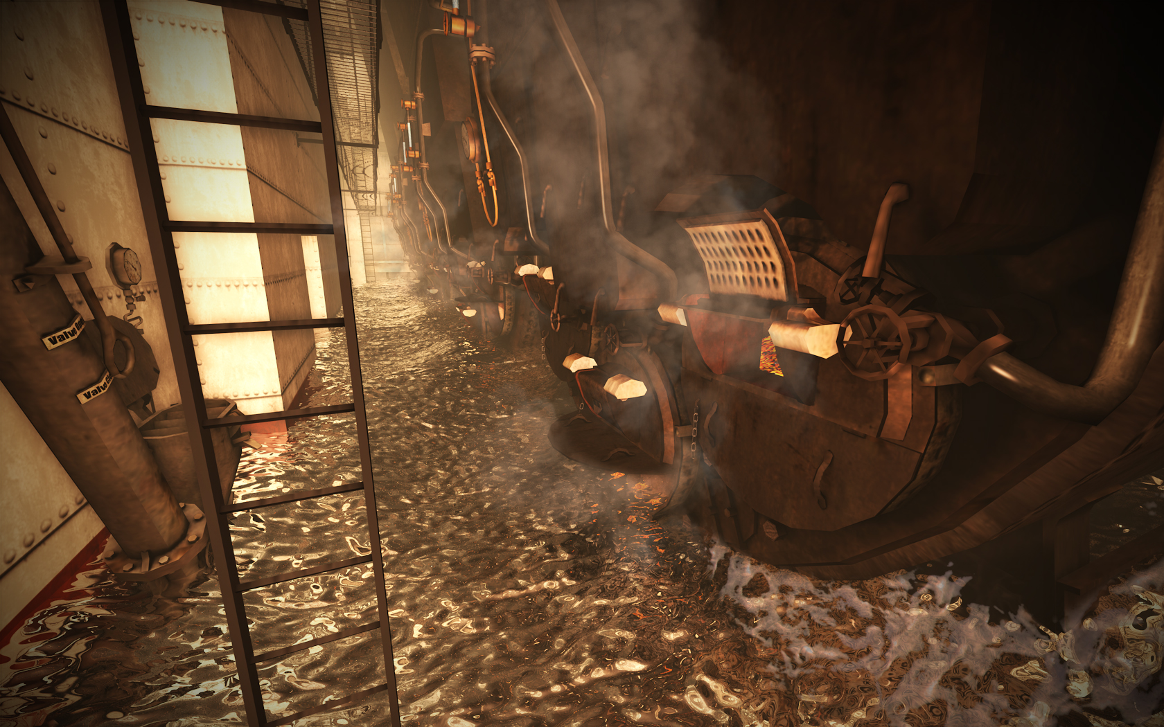 Boiler room flooding render image - Mafia Titanic Mod for Mafia: The City of Lost Heaven - Mod DB