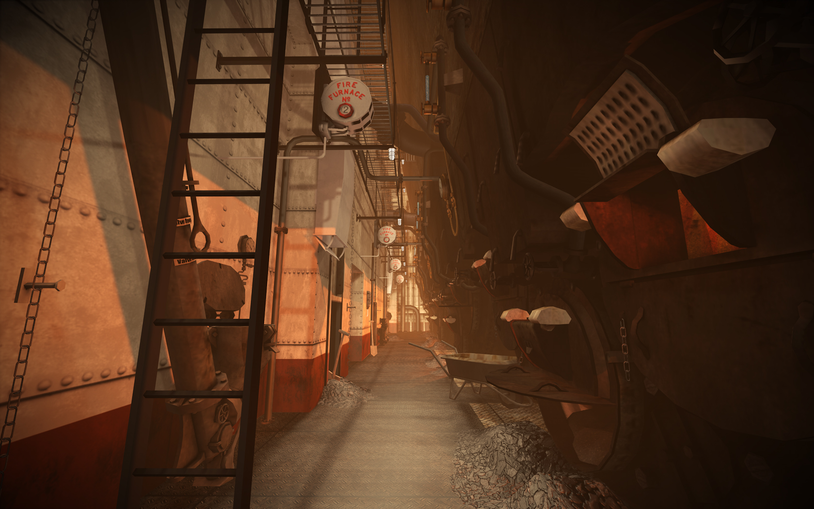 Finished Areas News Amnesia Titanic S Descent Mod For