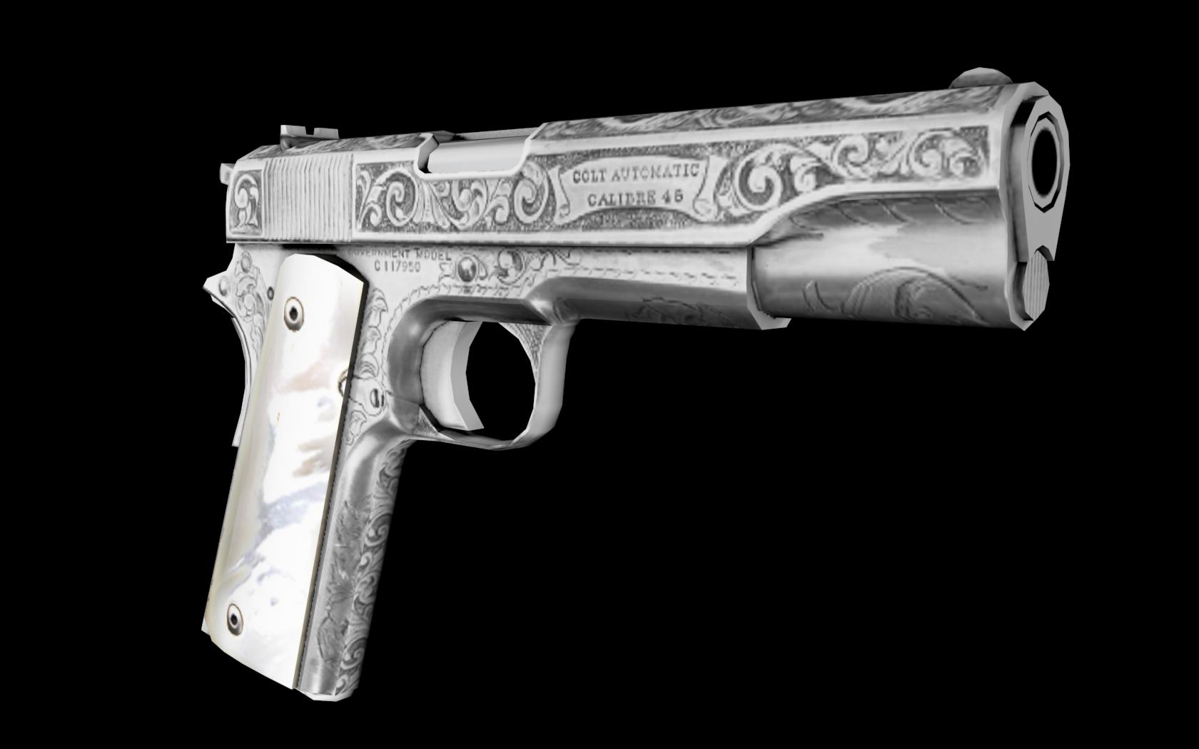 Colt 1911 - Engraved image - Mafia Titanic Mod for Mafia