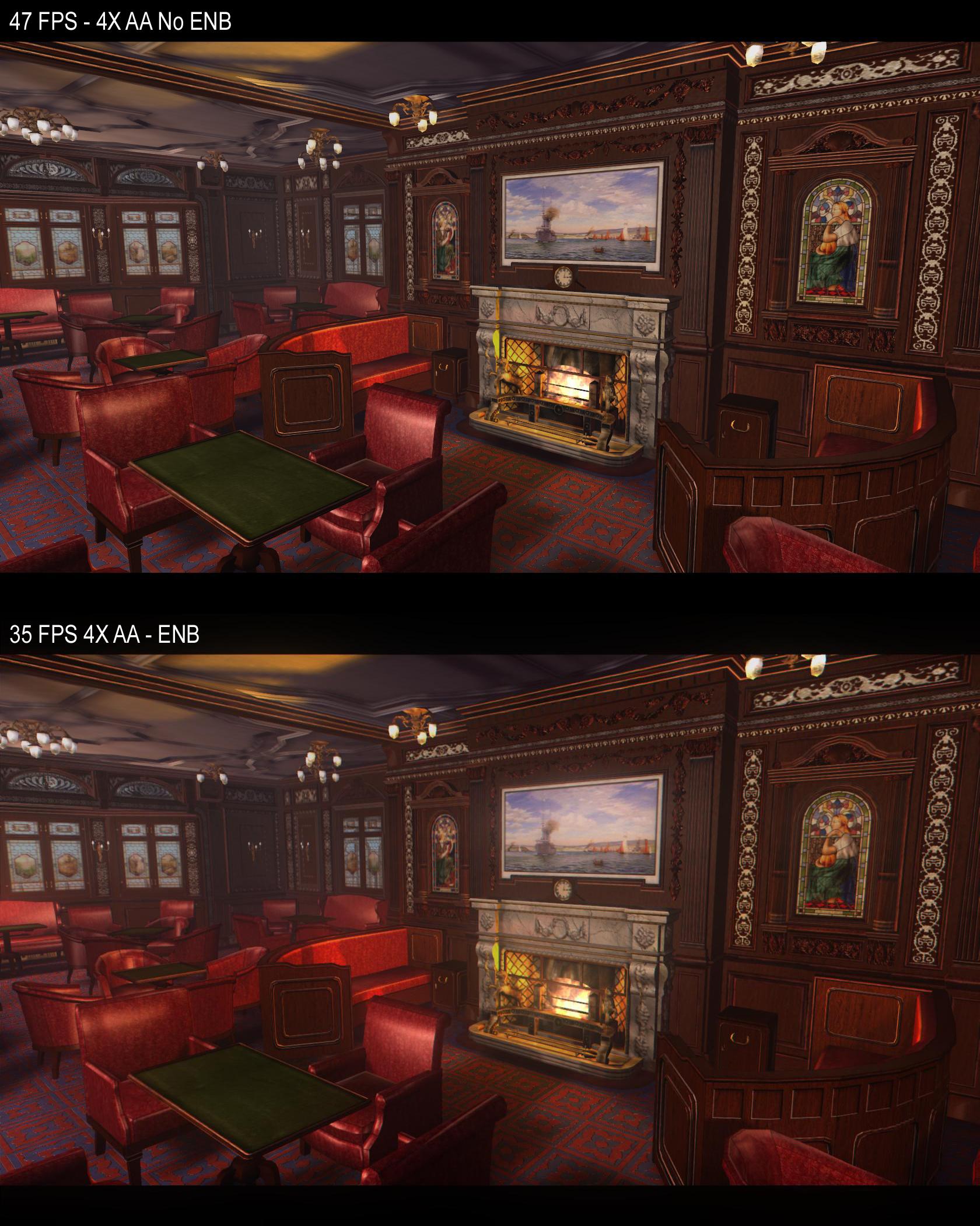 Titanic Engine Room Scene: Enb Series Graphic Tweak Image