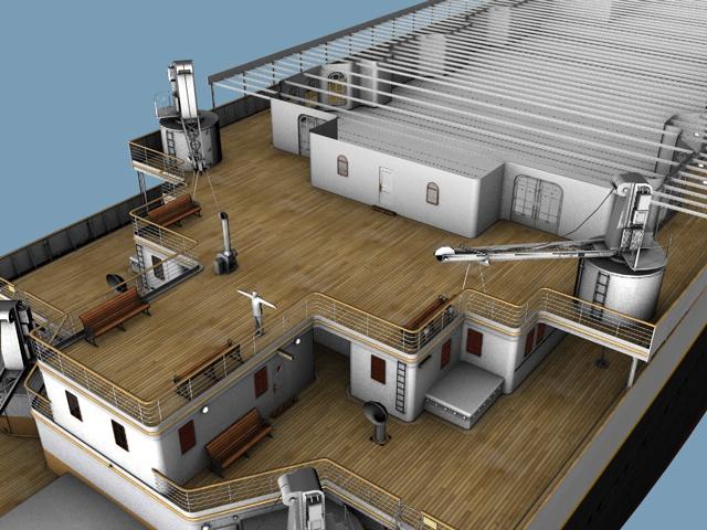 A Deck Promenade Adding Details Image Mafia Titanic