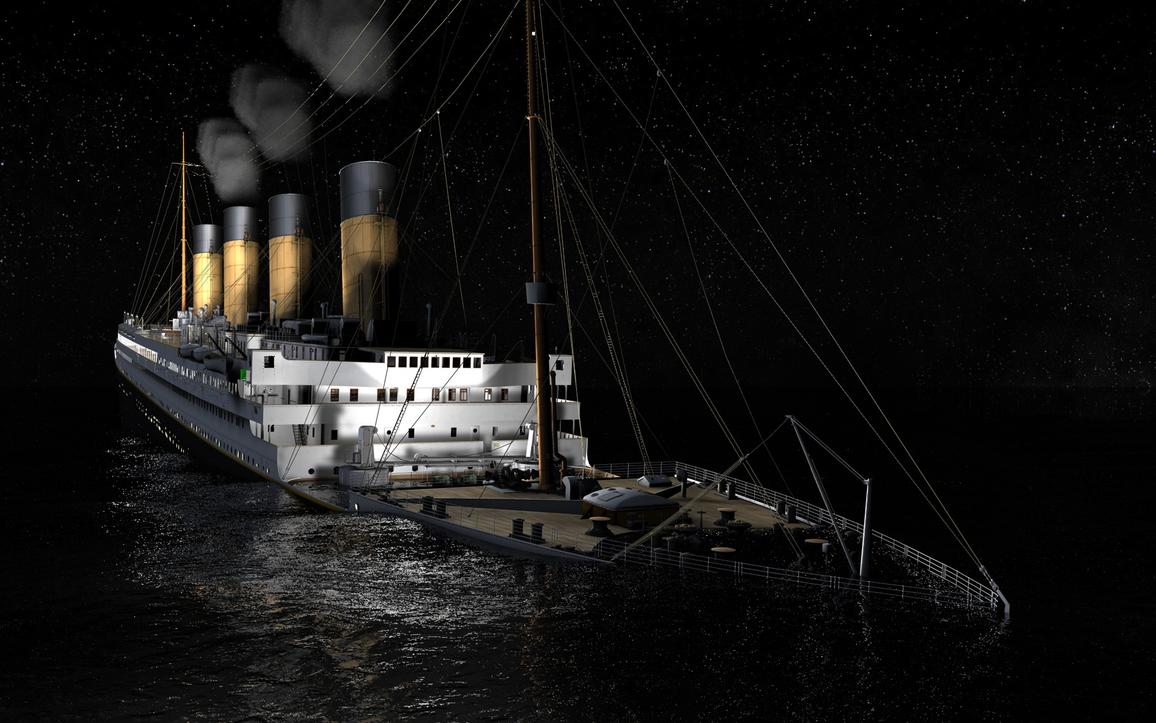 The Sinking of the Titanic: Bruce M Caplan, Logan Marshal Pictures of the titanic sinking in real life