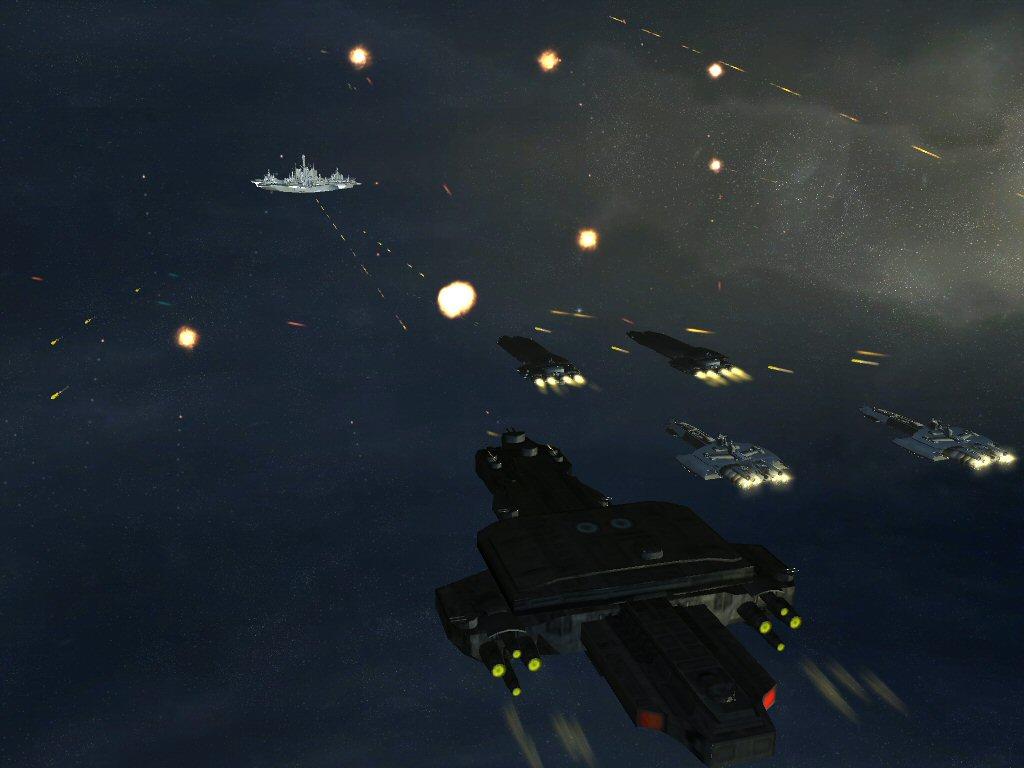 Atlantis Vs A Human Fleet Image Stargate Invasion Mod