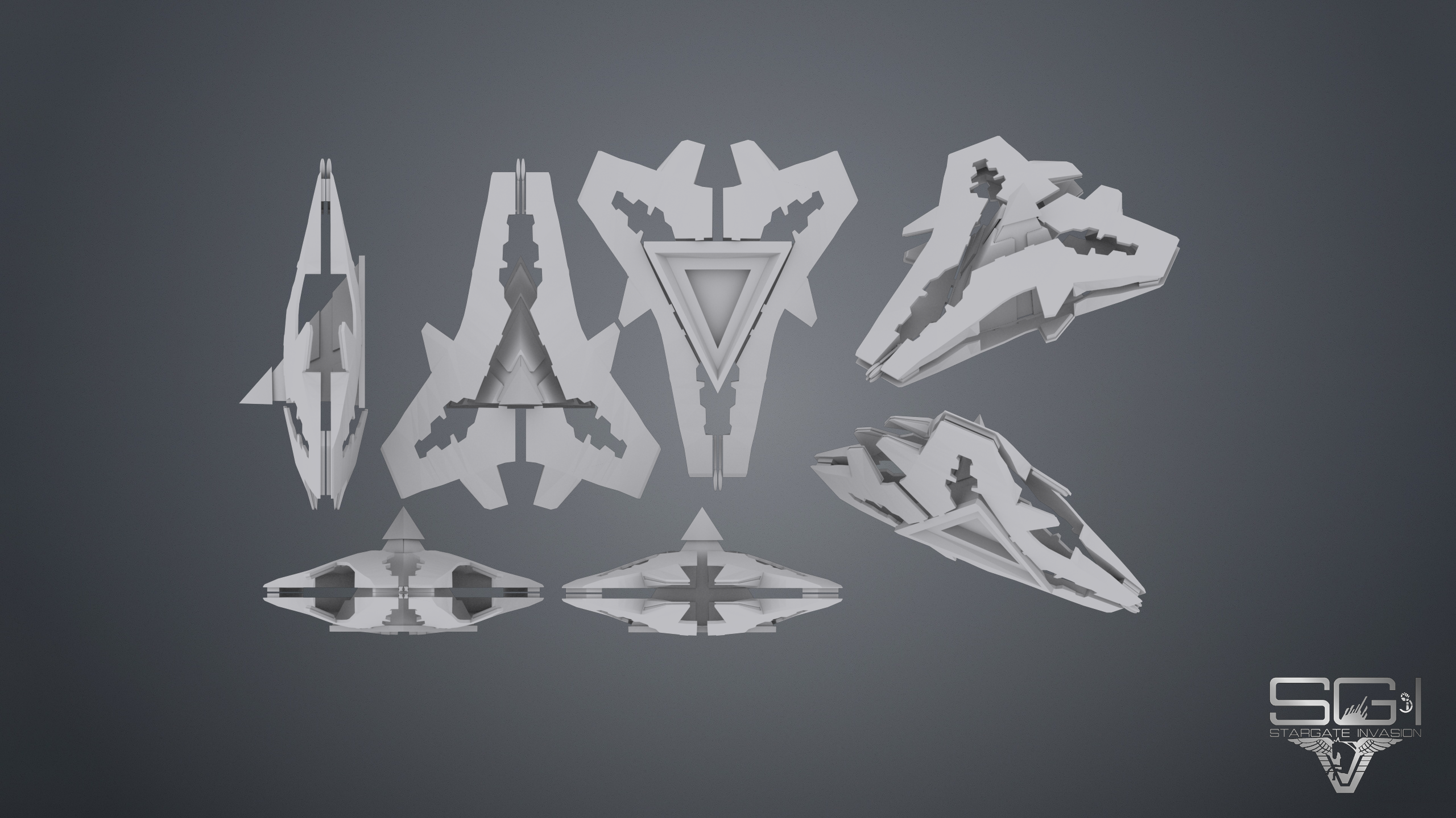 Goa'uld Capital Ship Model image - Stargate Invasion mod for Sins of a Solar Empire: Rebellion