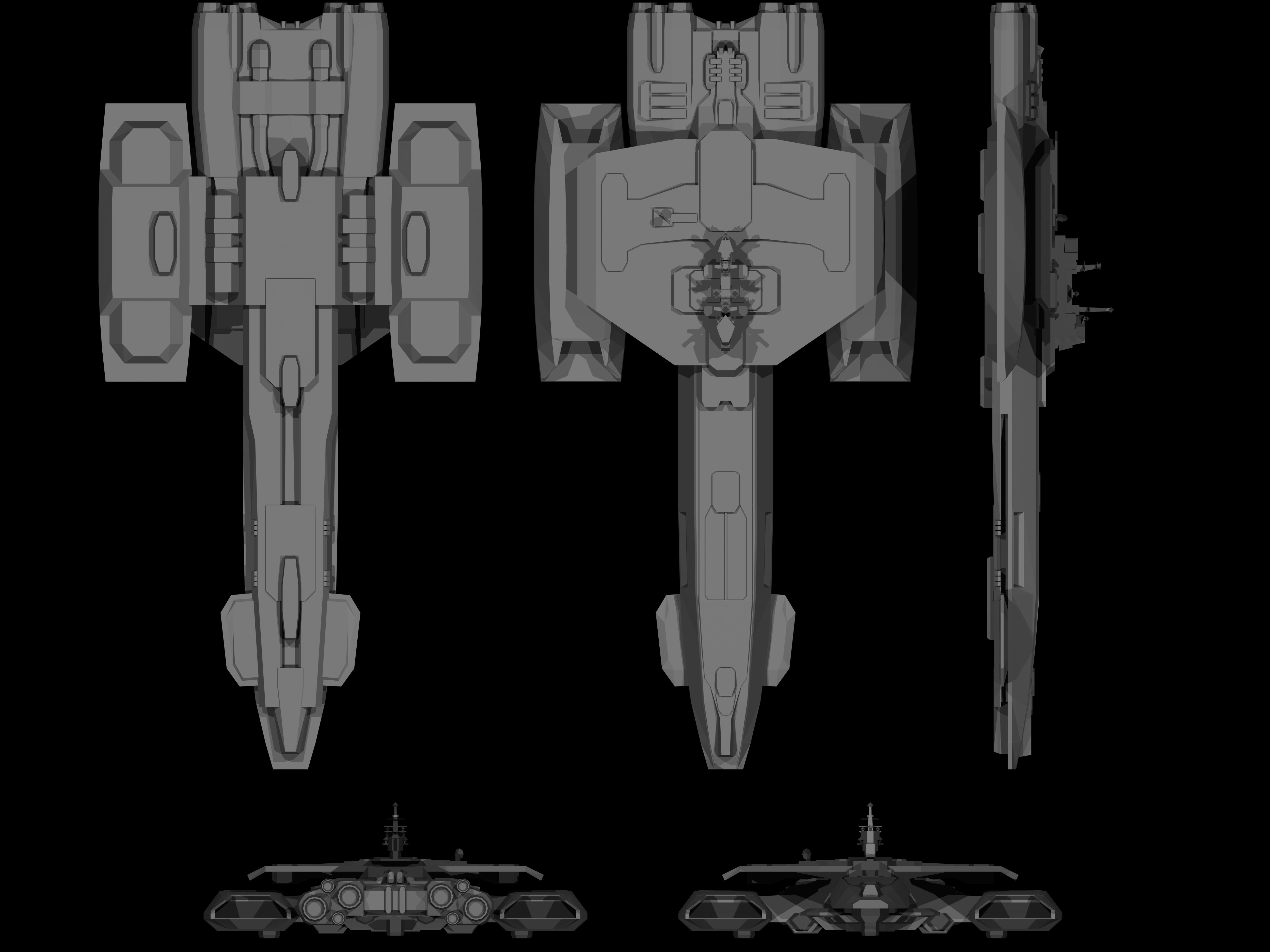 Achilles Class Starship