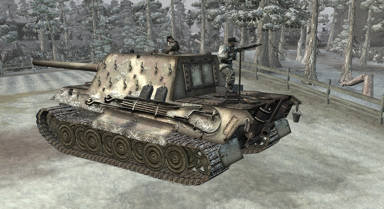Jagdtiger Image Battle Of The Bulge Mod For Company Of Heroes Opposing Fronts Mod Db