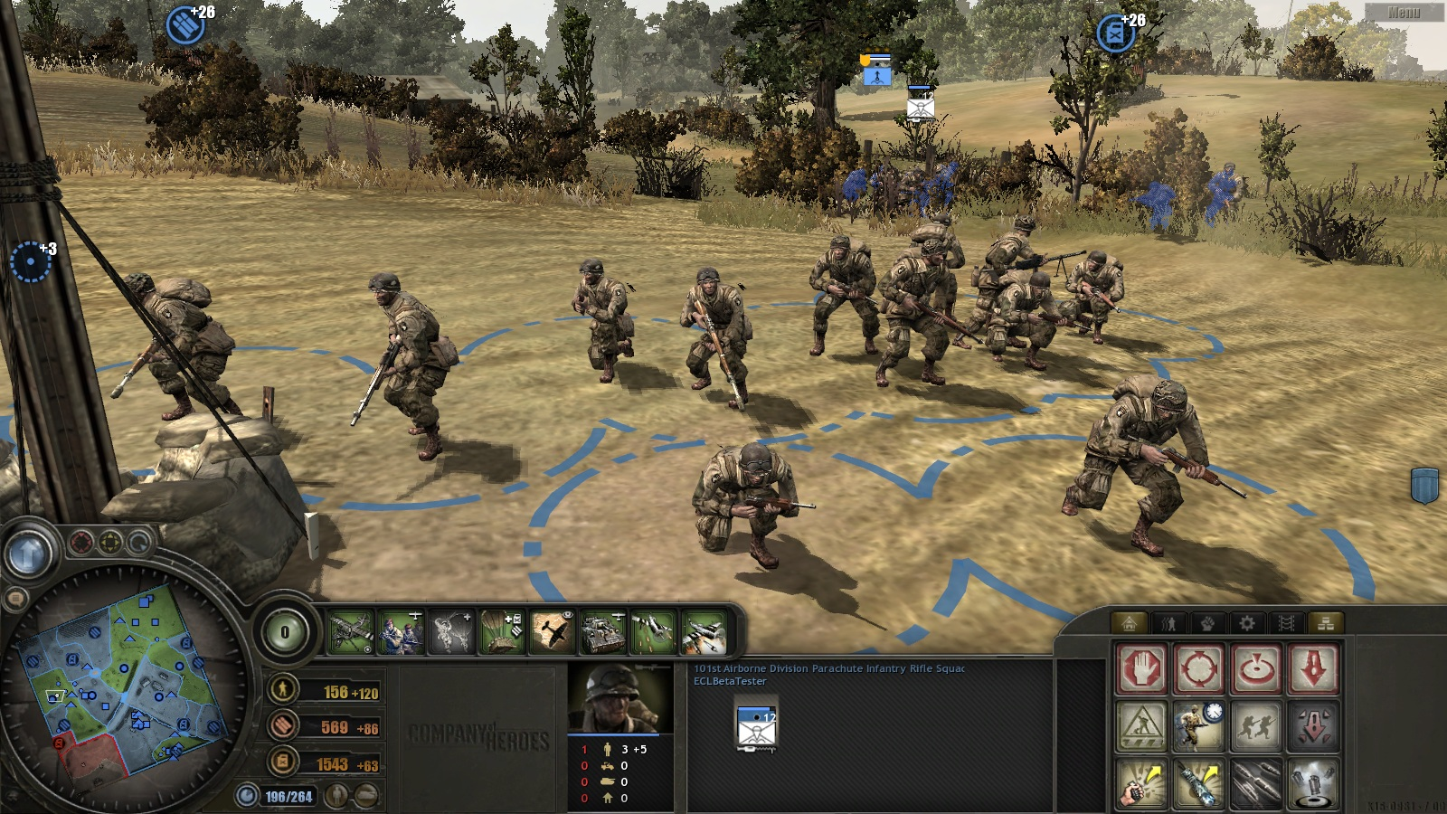 Us 101st Airborne Div Image Enhanced Combat Leader Beyond Overlord Mod For Company Of Heroes Mod Db