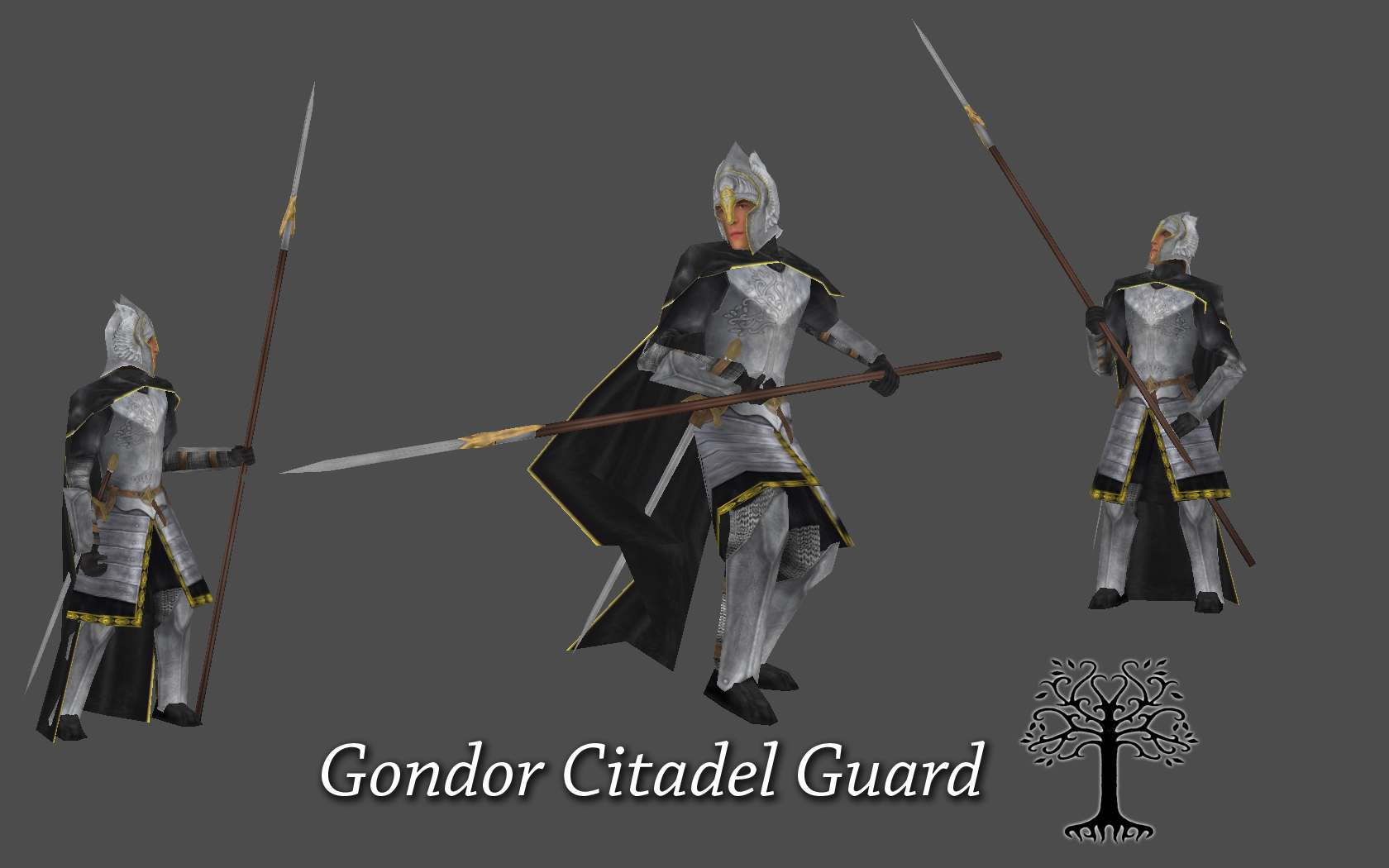 Lord Of The Rings Guard Of The Citadel Indeed
