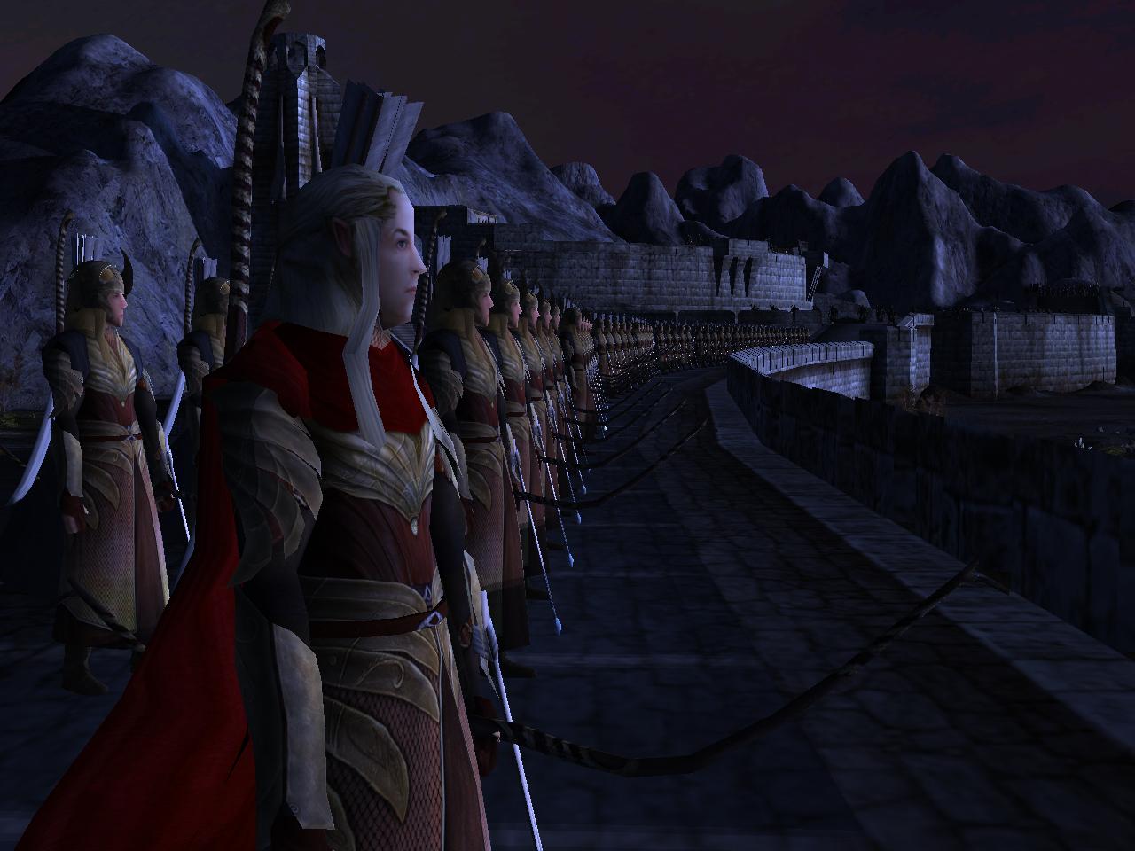 Lord Of The Rings Helms Deep Elf