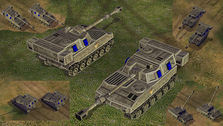 The end of days mod for cc generals zero hour, russian vehicles, image, screenshots, screens, picture, photo, render