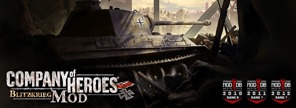 Blitzkrieg Mod For Company Of Heroes Opposing Fronts Mod Db