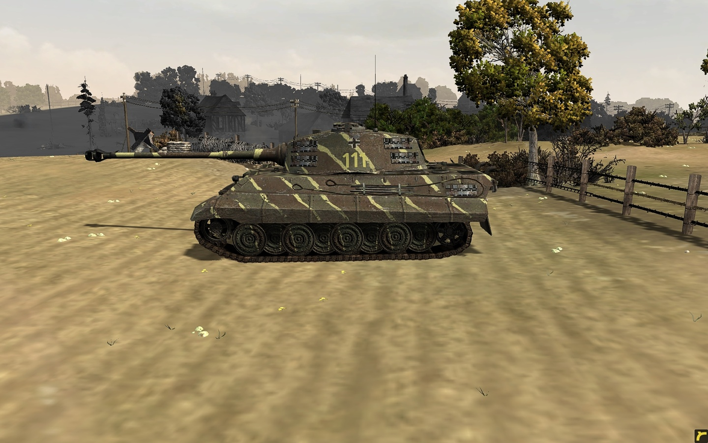 New Model Kingtiger With Henschel Turret Image Blitzkrieg Mod For Company Of Heroes Opposing Fronts Mod Db