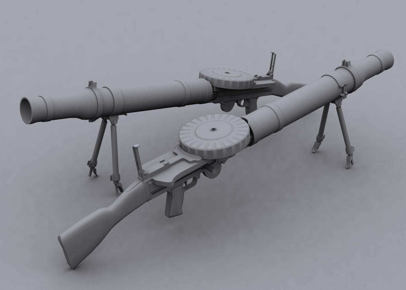 Original Lewis Gun