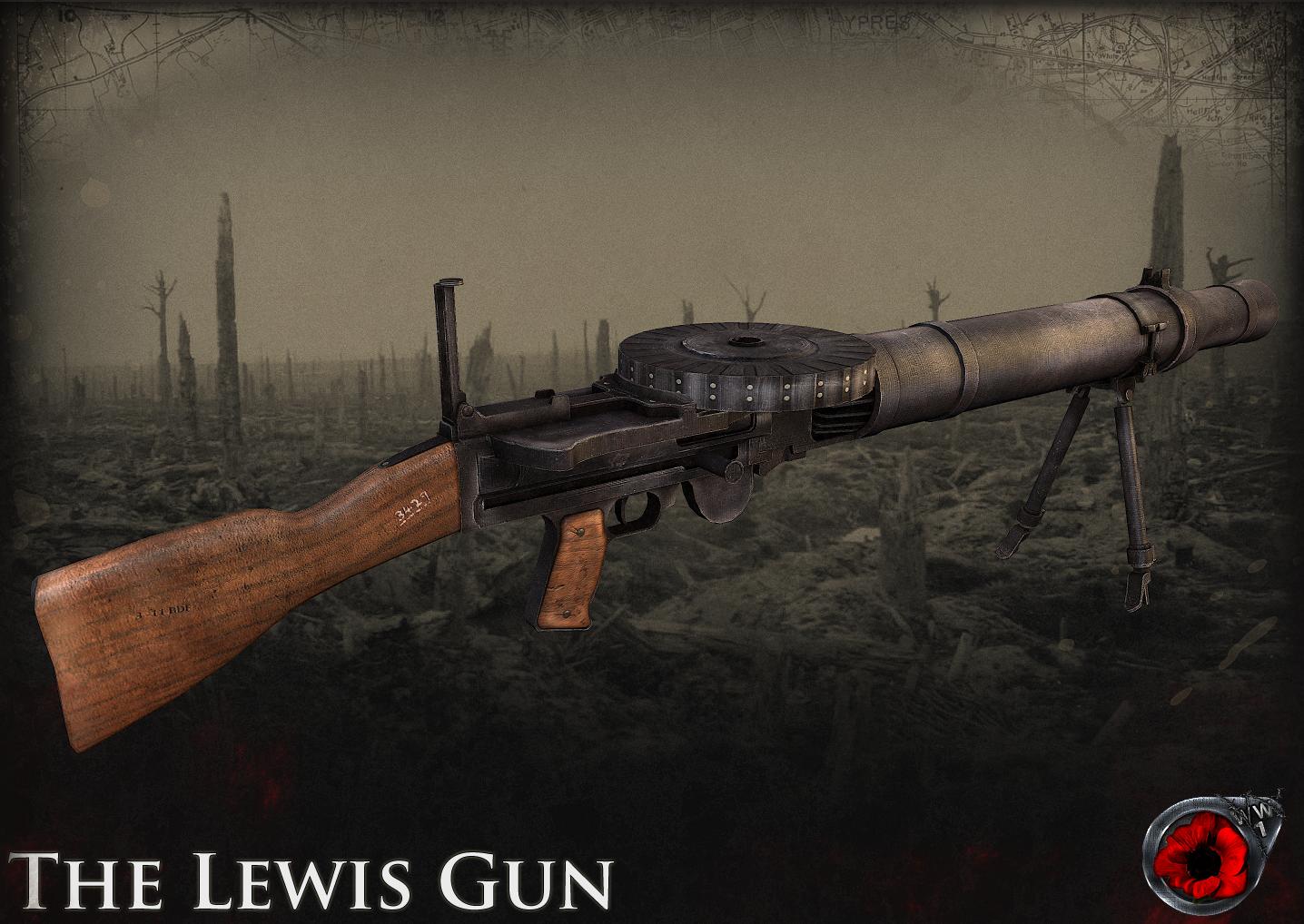 2 0 Lewis Gun image - Screaming Steel: 1914-1918 mod for Day
