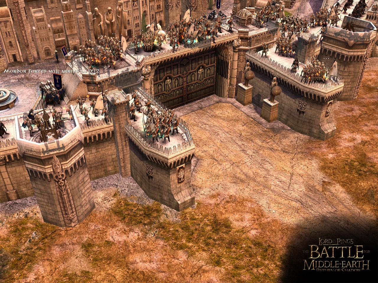 Gondor prepares for the siege