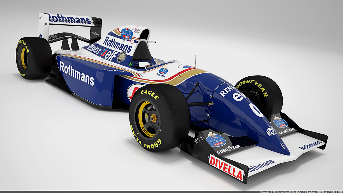 Williams 1994 renders image - Mod DB
