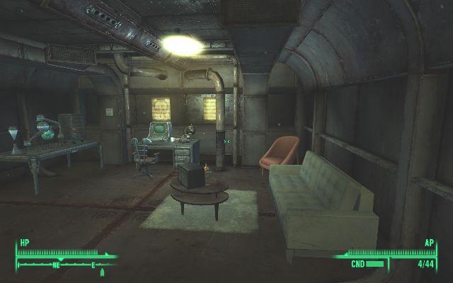 Lounge image princess rivet city house mod for fallout 3 for Entrance to rivet city