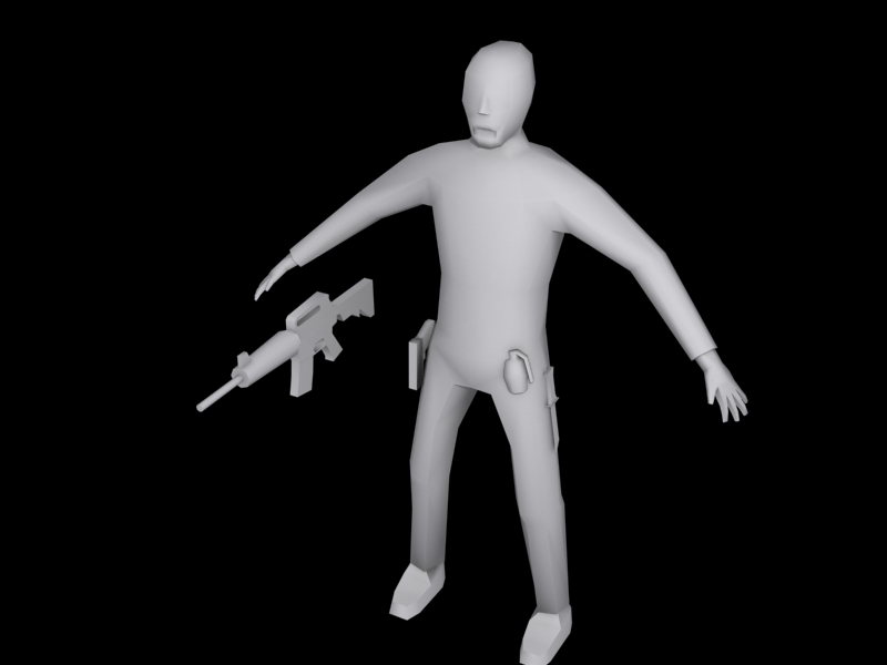 Player model,Normal zombie model,menu and moddb page! Weapons