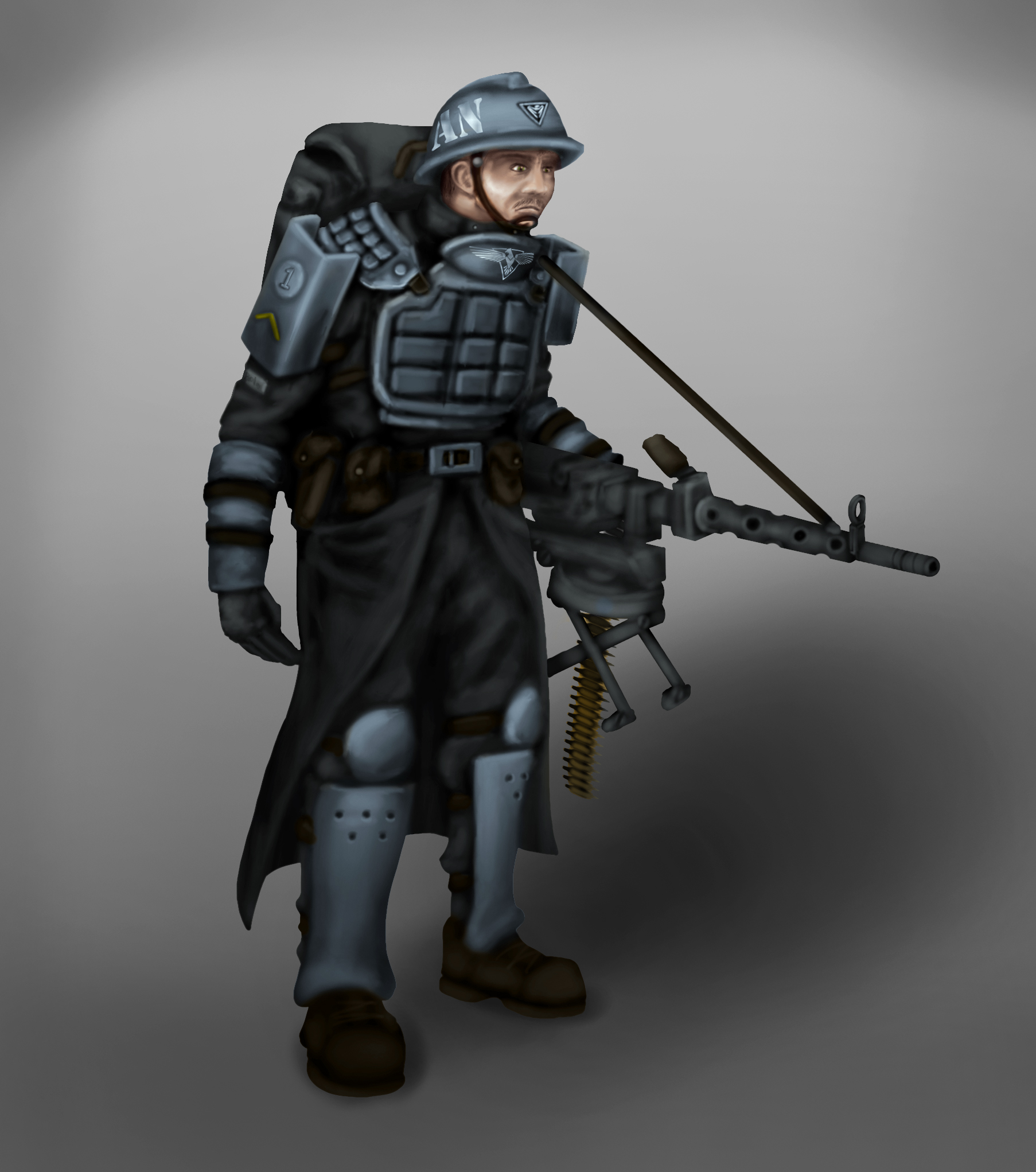 Heavy Defender Concept Image Red Alert 3 Paradox Mod For