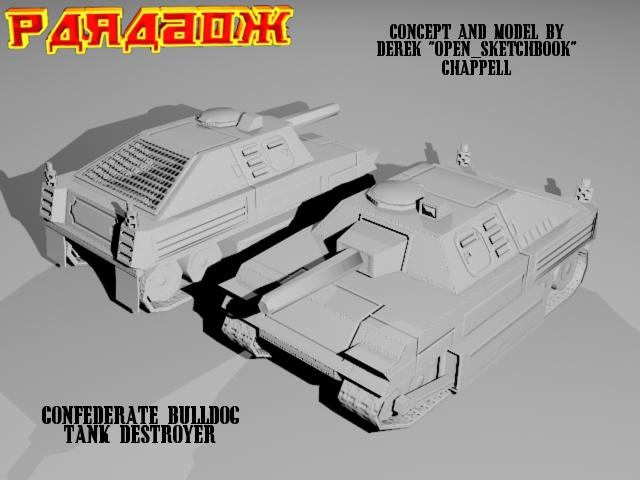Confederate Tank Destroyer