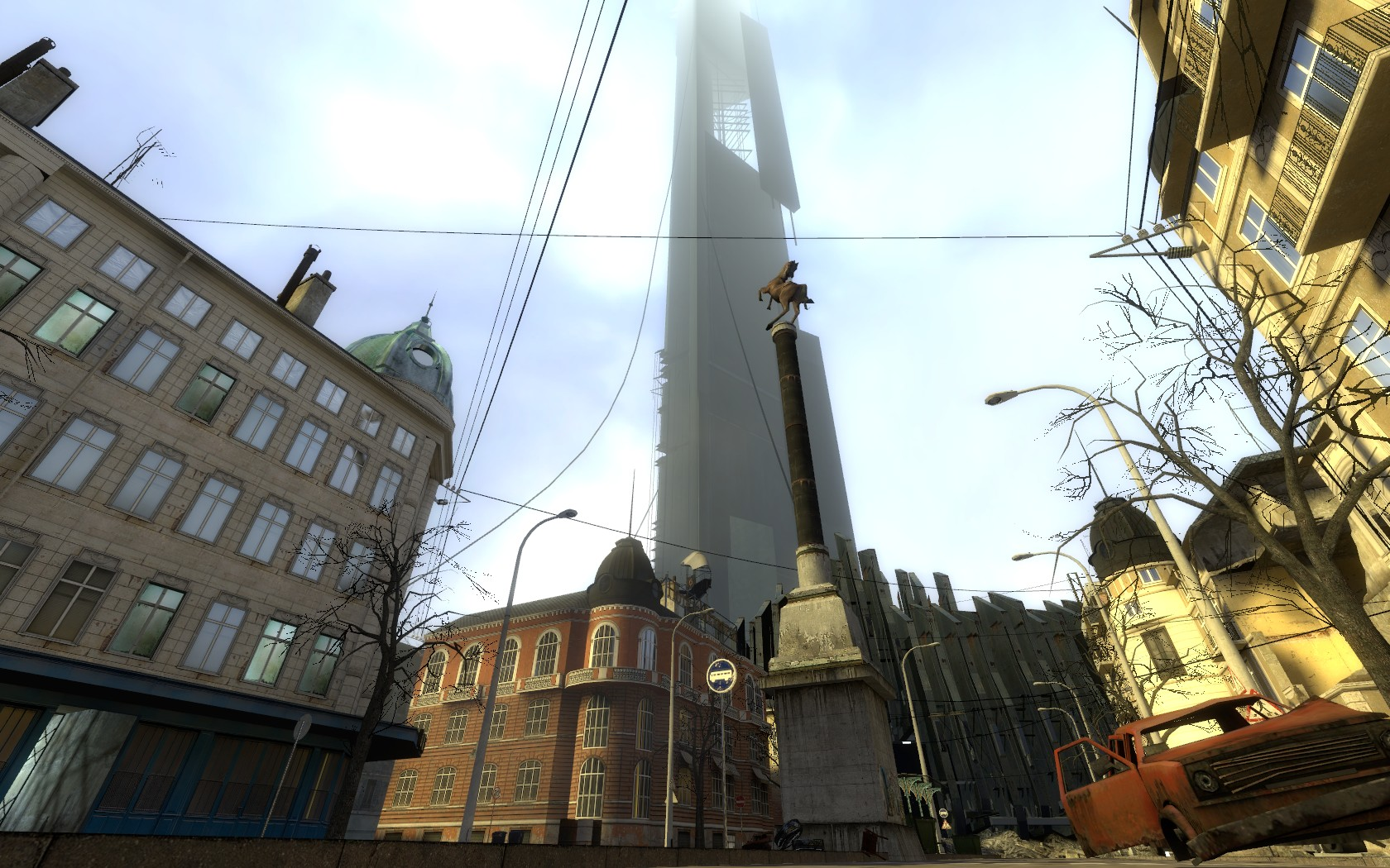 City 17 image - Missing Information mod for Half-Life 2 ... Raising The Bar