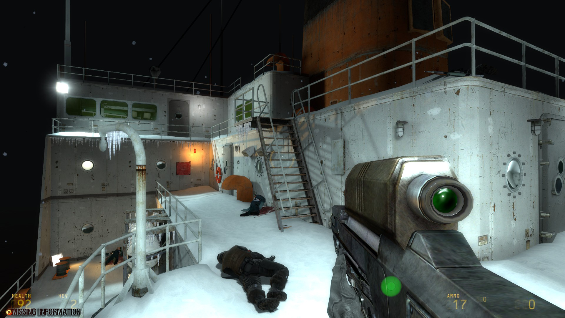 The Borealis Image Missing Information Mod For Half Life