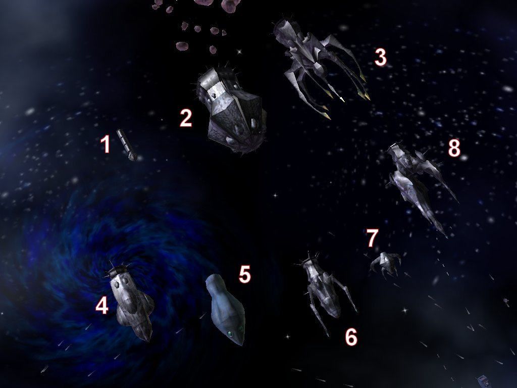 Nephilim Fleet Image Wing Commander Invasion Mod For Star Wars Empire At War Forces Of Corruption Mod Db