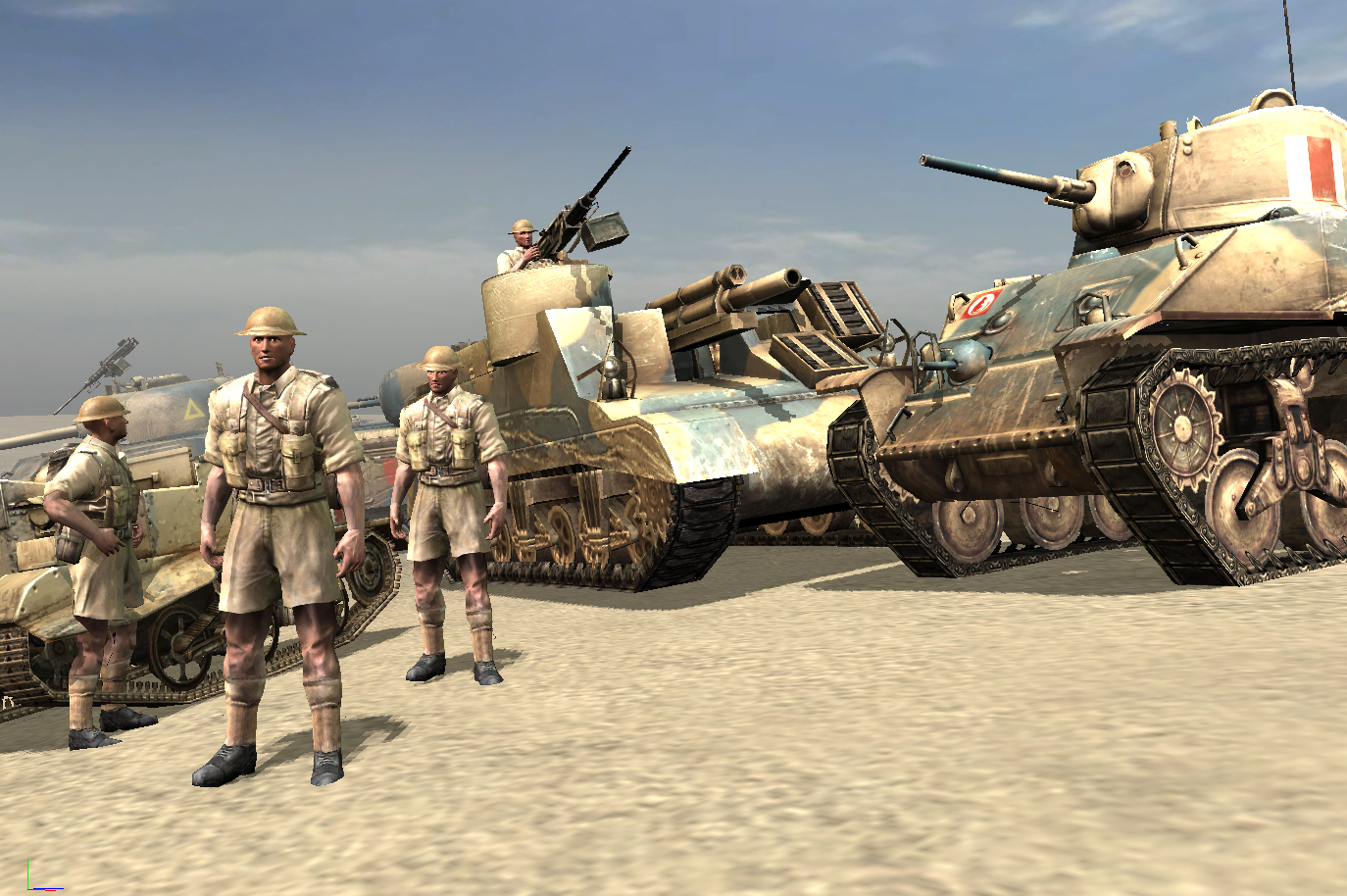 British Units Image Afrikafeldzug Mod For Company Of Heroes