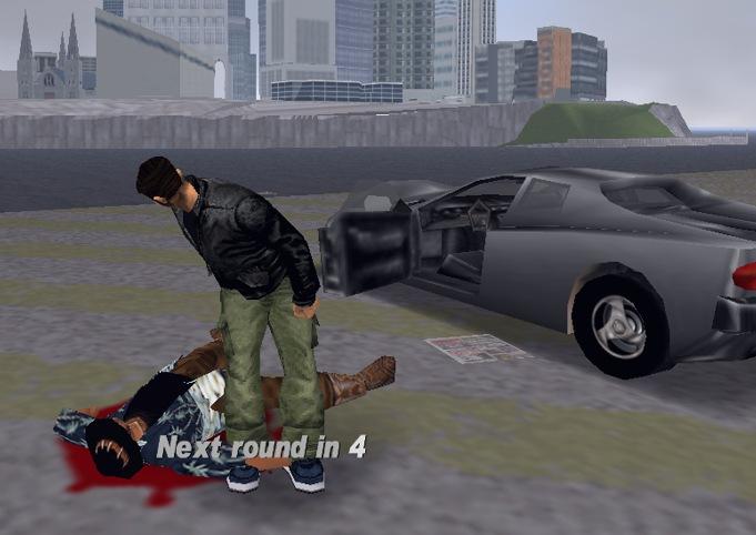 GTA 3 Mini-game: Columbo-soccer